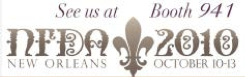 See Us At Booth 941 NFDA New Orleans October 10-13
