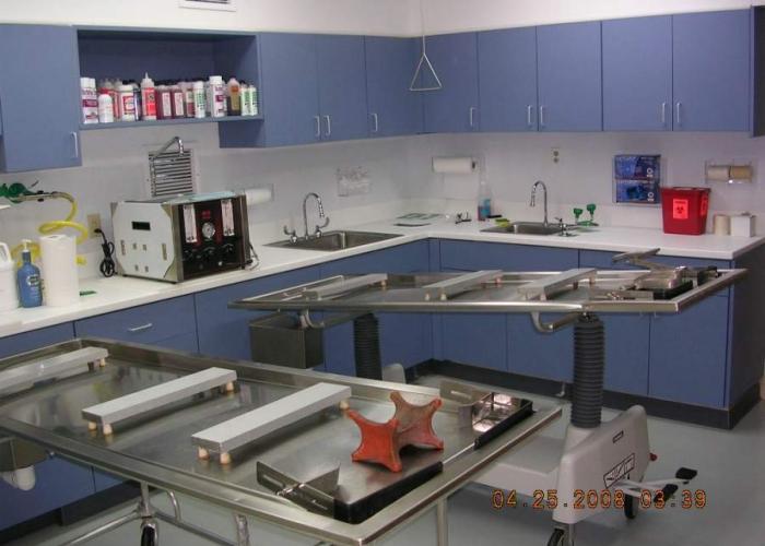 Lewis Preparation Room