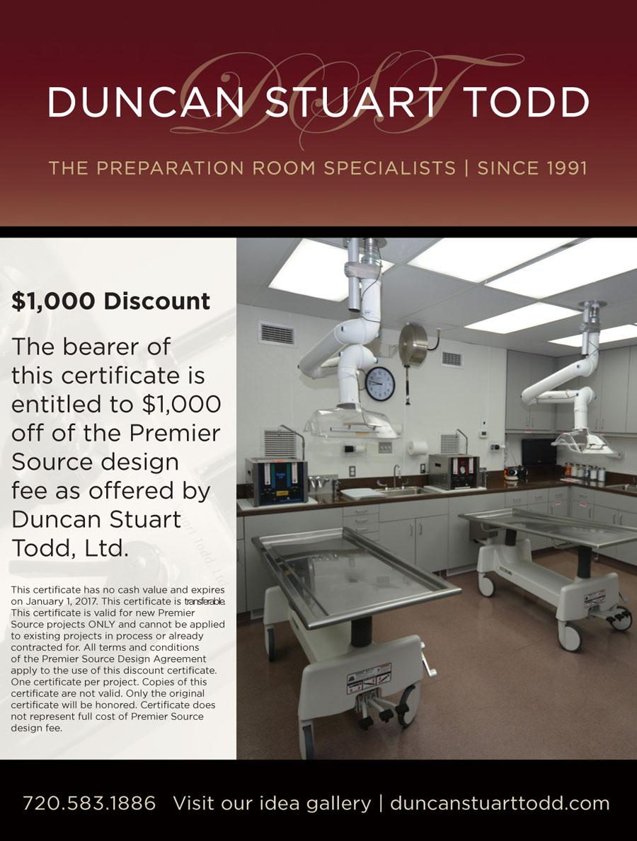 Premier Soure $1000 Design Discount