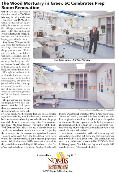 Wood Mortuary Client Story